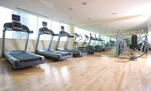 Figure 8 Health club: One- or Three-Month Gym Membership For One or for a Couple at Figure 8 Health Club in Cristal Hotel(Up to 54% Off)