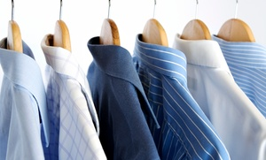 Liberty Cleaners: Dry Cleaning at Liberty Cleaners (50% Off). Two Options Available.