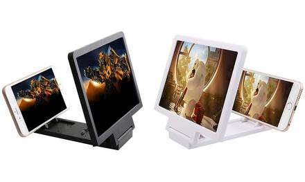 Agrandisseur d'écran pour tous smartphones et iPhone blanc ou noir, jusqu'à 5 fois sa taille initiale