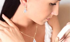Ensemble Ah! Jewellery® ornés de cristaux Swarovski®