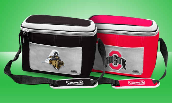 NCAA Soft-Sided, 12-Can Cooler: NCAA Soft-Sided, 12-Can Cooler. Multiple Teams Available.