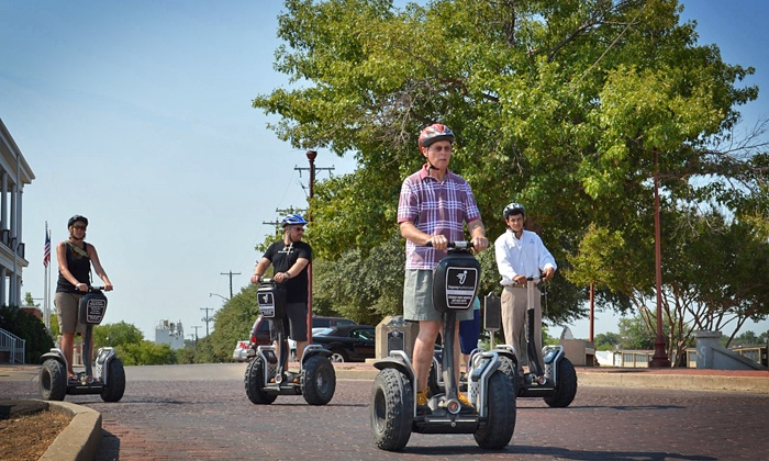 Segway Fort Worth - Multiple Locations: 90-Minute Guided Segway Tour for One, Two, or Four from Segway Fort Worth (Up to 56% Off)