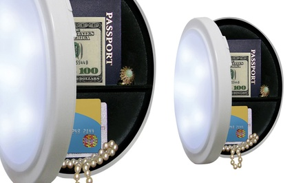 Closet Light With Concealed Safe Groupon Goods