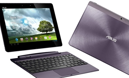 "groupon daily deal - ASUS Transformer TF700 32GB 10.1"" Android Tablet with Optional Keyboard Dock (Manufacturer Refurbished). Free Returns."