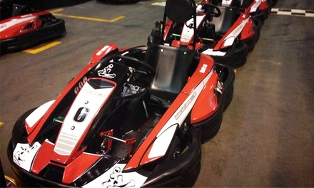 Exclusive Group Go-Kart Racing for up to 12 with 15-Minutes of Track Time at Indoor Kart Racing @ TBC (44% Off)
