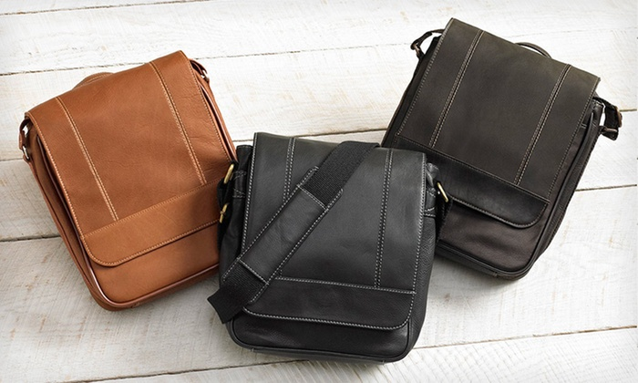 Wilson Leather Messenger and Tablet Bags: Wilson Leather Messenger and Tablet Bags (Up to 76% Off). Seven Styles Available. Free Shipping.