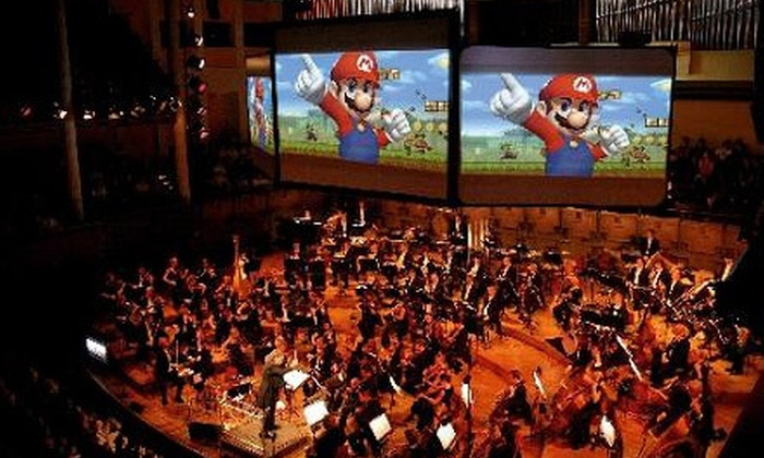 """""""Play! A Video Game Symphony"""" - Belknap Lookout: Grand Rapids Symphony's """"Play! A Video Game Symphony"""" at DeVos Performance Hall on January 29"""