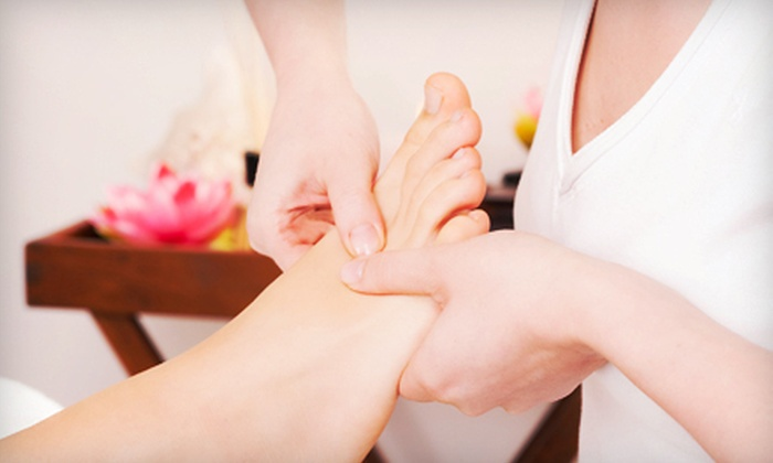 Meridian & Facial Spa - West Rockville: Foot Sauna and Reflexology with Option for Acupressure Massage at Meridian & Facial Spa (Up to 57% Off)