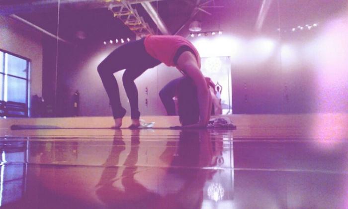 Yoga With Ashley - Draper: Three Yoga Classes at Yoga with Ashley (64% Off)