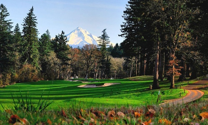 Camas Meadows Golf Club - Camas: 18-Hole Round of Golf with Cart and Range Balls for Two at Camas Meadows Golf Club
