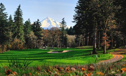 18-Hole Round of Golf with Cart and Range Balls for Two at Camas Meadows Golf Club