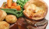 The New Inn, Huby - Huby: Sunday Lunch With Wine For Two (£10) or Family (£15) at The New Inn (Up to 55% Off)
