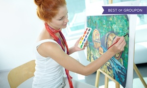 Uncork'd Art: Painting Class with Drink for 1 or 2 (Up to 51% Off)