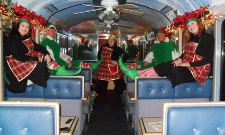 Ride for One on The Christmas Train from Sierra Railroad Dinner Train (44% Off). 10 Dates Available.