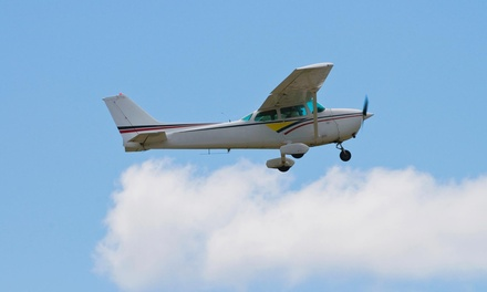 $89 for a One-Hour Introductory Flight Lesson from Freeway Airport in Bowie ($200 Value)