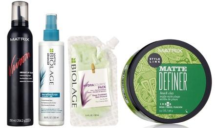 2 Matrix prodotti per capelli