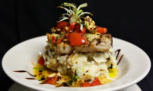 Vanity: $49.99 for a Contemporary Meal for Two at Vanity (Up to $92 Value)
