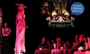 Slide Lounge: Three-Course Dinner and Risqué Revue Cabaret Show for Two ($150) or Six People ($435) at Slide Lounge (Up to $534 Value)