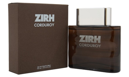 Zirh Corduroy Eau de Toilette for Men (4.2 Fl. Oz.)