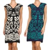 Women's Printed Sheath Dress