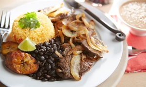 Havana Grill: Cuban Food for Dinner for Two or Four at Havana Grill (Up to 57% Off)
