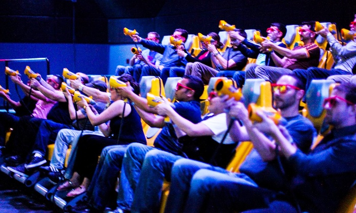 7D Experience - Fisherman's Wharf: Interactive Laser-Shooting Experience for 2, 4, or Up to 15 at 7D Experience (Up to 56% Off)