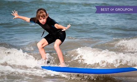 One or Two Days of Kids' Surf Camp from Perfect Day Surf Camp (Up to 38%Off)
