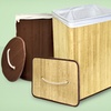$24.99 for a Bamboo Laundry Hamper