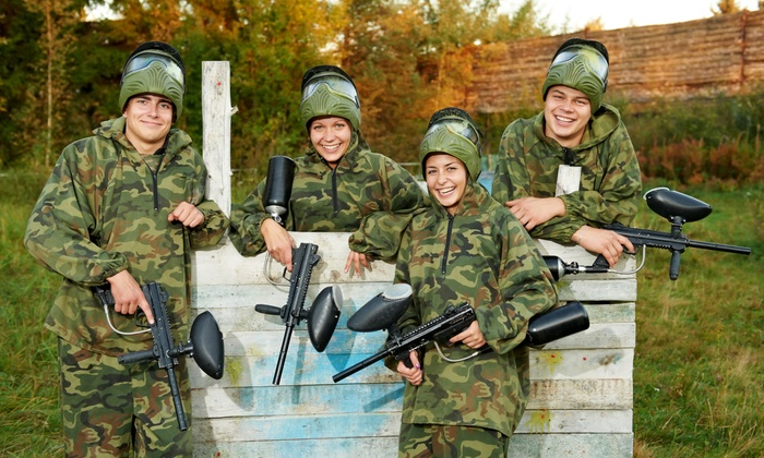 PaintballTickets.ca - Ottawa: Paintball Outing for Four, Six, or Eight with Rental Gear from PaintballTickets.ca (Up to 58% Off)