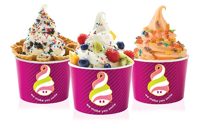 Menchie's Frozen Yogurt - Bedford Park: Frozen Yogurt or Frozen Yogurt Cake at Menchie's Frozen Yogurt (Up to 50% Off)