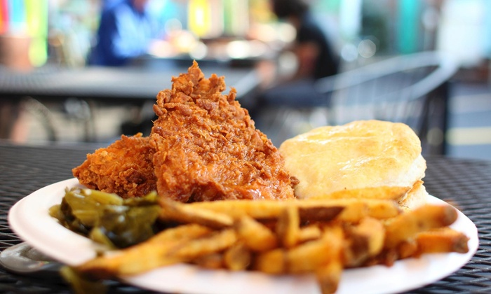 Shark's Fish & Chicken - The Loop: One Drink with Purchase of Chicken Dinner Special at Shark's Fish & Chicken