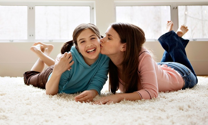 V Clean - South Brunswick Township: Carpet Steam Cleaning from V Clean (Up to 69% Off)