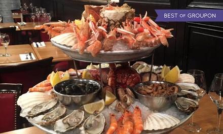 Saveurs iodées en bord de Garonne avec plateaux de fruits de mer au choix pour 2 dès 49,90 € à La Brasserie des Douanes