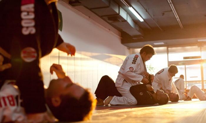 Soca Brazilian Jiu Jitsu - Wantagh: 5, 10, or 20 Classes at Soca Brazilian Jiu Jitsu (Up to 92% Off)