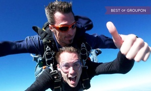 Skydive Space Center: 12,000-Foot Skydiving Package for One or Two at Skydive Space Center  (Up to 67% Off)
