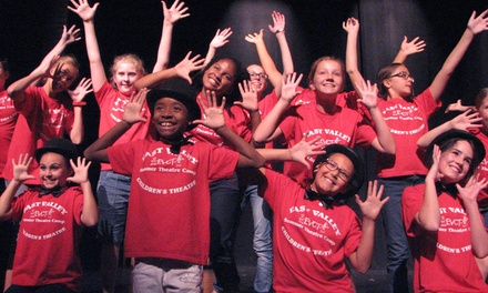 Up to 50% Off Musical Theatre Summer Camp  at East Valley Children's Theatre