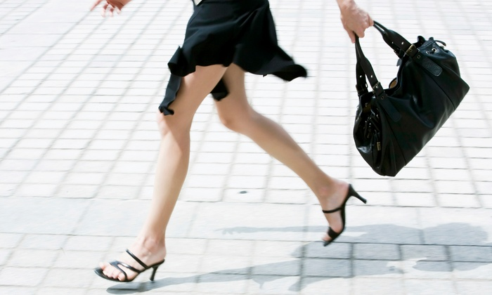 Houston Shoe Hospital - Multiple Locations: Women's or Men's Shoe-Heel Replacement or Purse and Luggage Repair at Houston Shoe Hospital (50% Off)