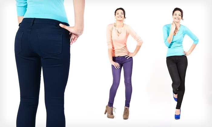 Vigoss Women's Skinny Jeans: $29.99 for One Pair of Vigoss Women's Skinny Jeans ($64 List Price). 41 Options Available. Free Shipping and Returns.