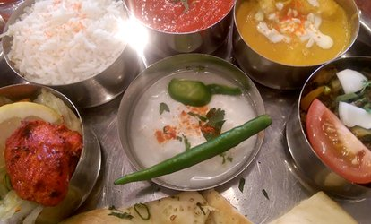 Thali Meal and Liqueur Coffee for Up to Six at Rayleigh Spicy (Up to 45% Off)