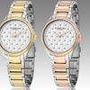 Stührling Original Women's Quilted-Dial Watch with Swarvoski Crystals