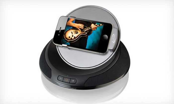 iPhone and iPod Speaker Dock: $25 for an iPhone and iPod Speaker Dock ($49.99 List Price). Free Shipping and Free Returns.
