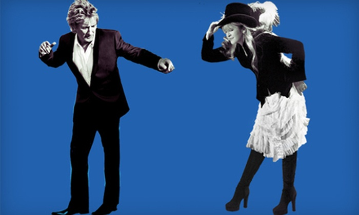 The Heart & Soul Tour featuring Rod Stewart and Stevie Nicks - Greensboro Coliseum Complex: Rod Stewart and Stevie Nicks at Greensboro Coliseum Complex on August 1 (Up to 57% Off). Two Seating Options Available.