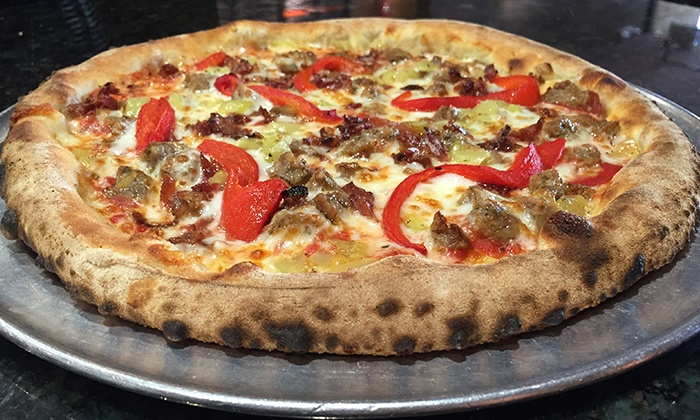 Bricks Wood Fired Pizza - Naperville - Multiple Locations: $14 for Two Specialty Pizzas at Bricks Wood Fired Pizza & Cafe (Up to $26 Value)