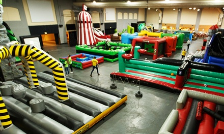 Entry into Wacky Bounce for One or Two at Wacky World Parks (31% Off)