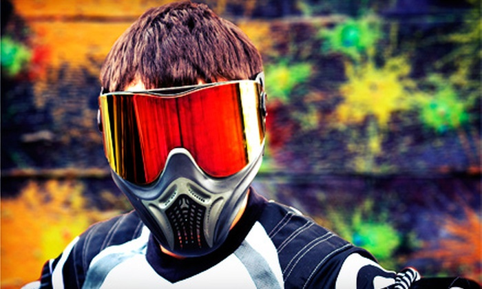 Fairfield Extreme Sports - Fairfield: Paintball for One, Two, or Four Plus Gear Rental and 500 Paintballs Each at Fairfield Extreme Sports (Up to 57% Off)
