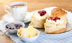 Abbot's Kitchen: Afternoon Tea with Optional Tour of St. Albans Cathedral and Prosecco for Two at Abbot's Kitchen