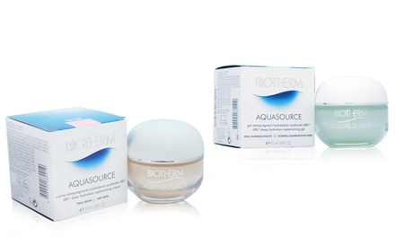 Biotherm Aquasource Hydration Replenishing Skincare Cream or Gel (1.7 fl. oz.)