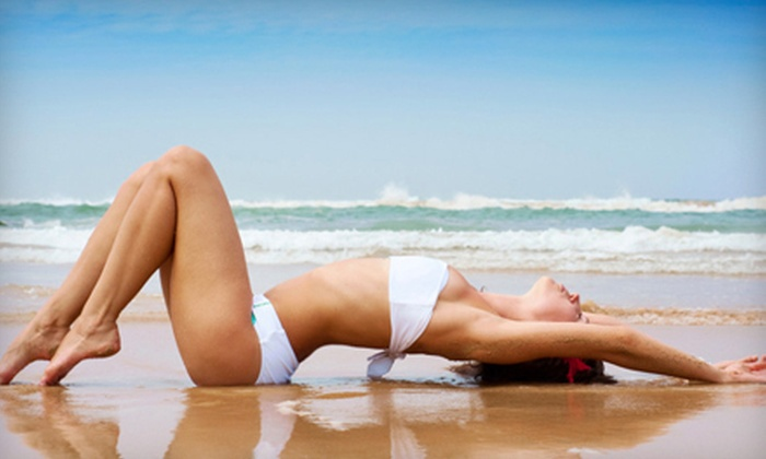 SunMe Swimsuit Spa - Bedford: One or Three Airbrush Tans at SunMe Swimsuit Spa (Up to 61% Off)