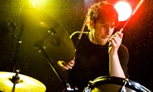 American One Productions: One or Two Private Drum Lessons at American One Productions (Up to 64% Off)