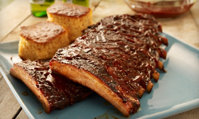 Wooden Nickel Pub & Eatery - Multiple Locations: $15 for $30 Worth of Barbecue Fare and Drinks at Wooden Nickel Pub & Eatery